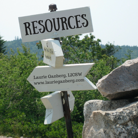 Resources by Laurie Ganberg, LICSW
