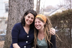 Photo of Dr. Lizzie Sobel & Erica Kershner